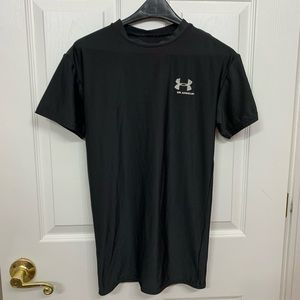 Boys Under Armour Athletic Short Sleeve Shirt